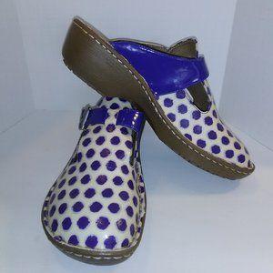 Lila SURE GRIP  women's clogs shoes size 8
